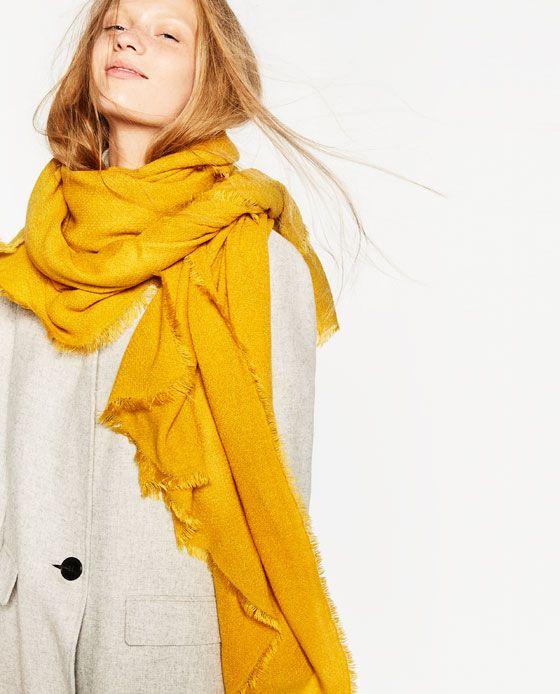 meilleures chaussures le plus en vogue vaste sélection Image 5 de FOULARD BASIQUE de Zara   accessories   Foulard ...