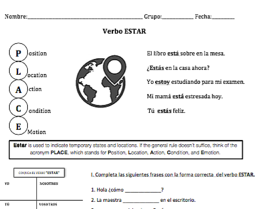 Products Spanish Verbs Lesson Plans Help Teaching [ 816 x 1000 Pixel ]