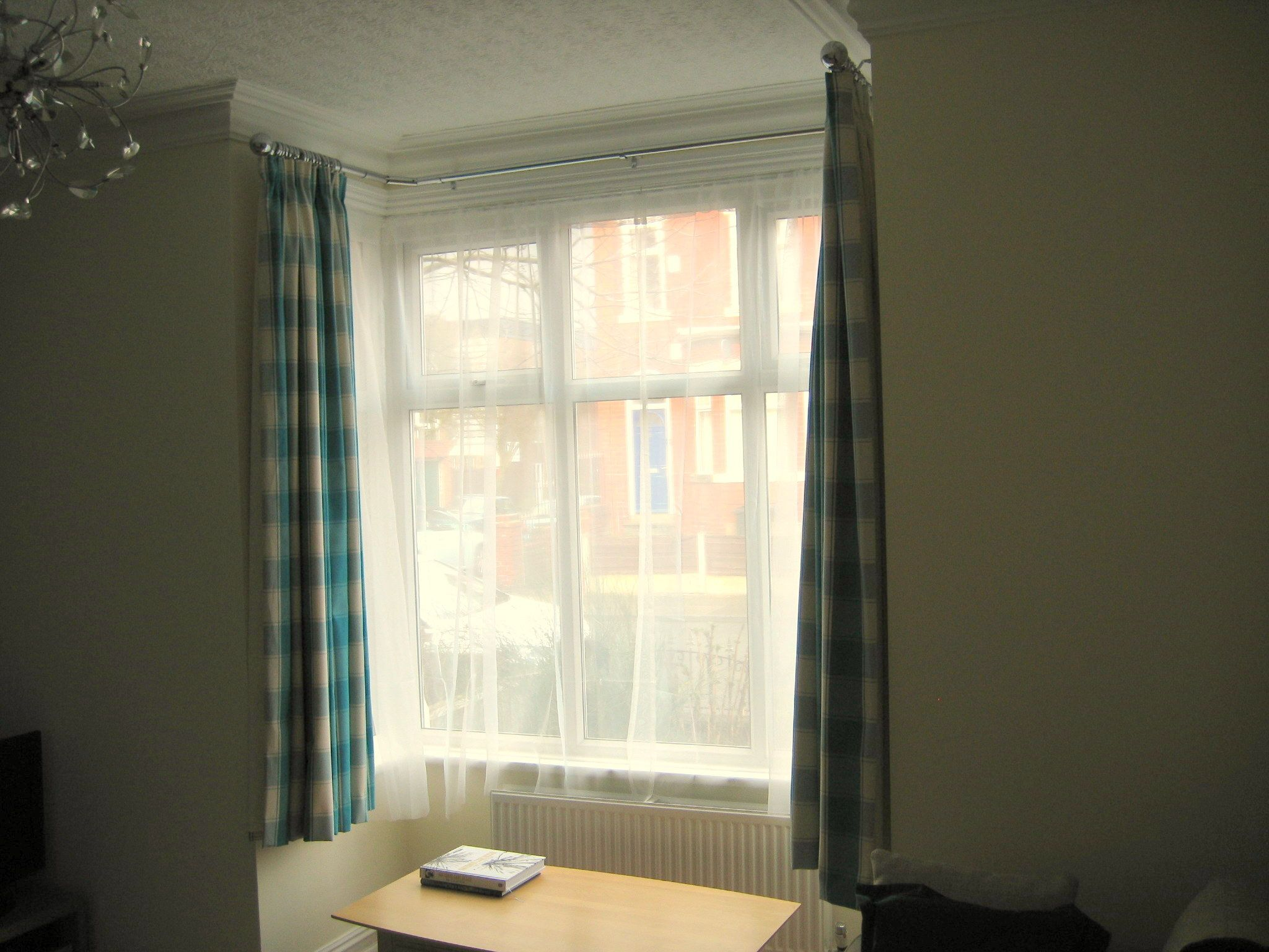 Curtain Idea For Box Window Curtains Square Windows Curtain Box