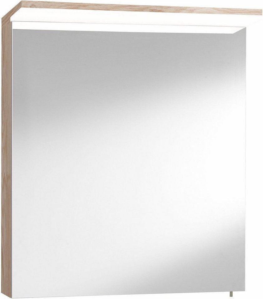 Optifit Spiegelschrank Samoa Mit Led Beleuchtung Living Okt 01 Spiegelschrank Spiegel Badmobel