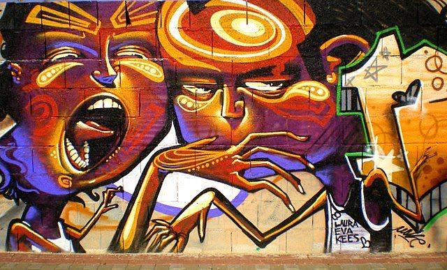 A great collection of amazing, creative and brilliant graffiti artworks. All pictures are worth seeing! Graffiti art Amsterdam 5 by ShiratskiGrafiti, Granada, España 47Grafiti by PaulGreenGr…
