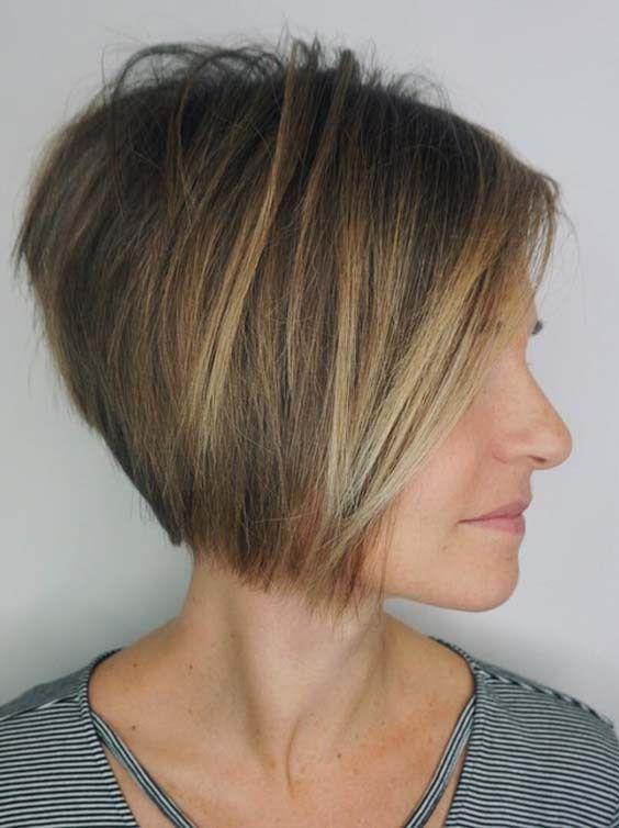 stunning short haircuts fine