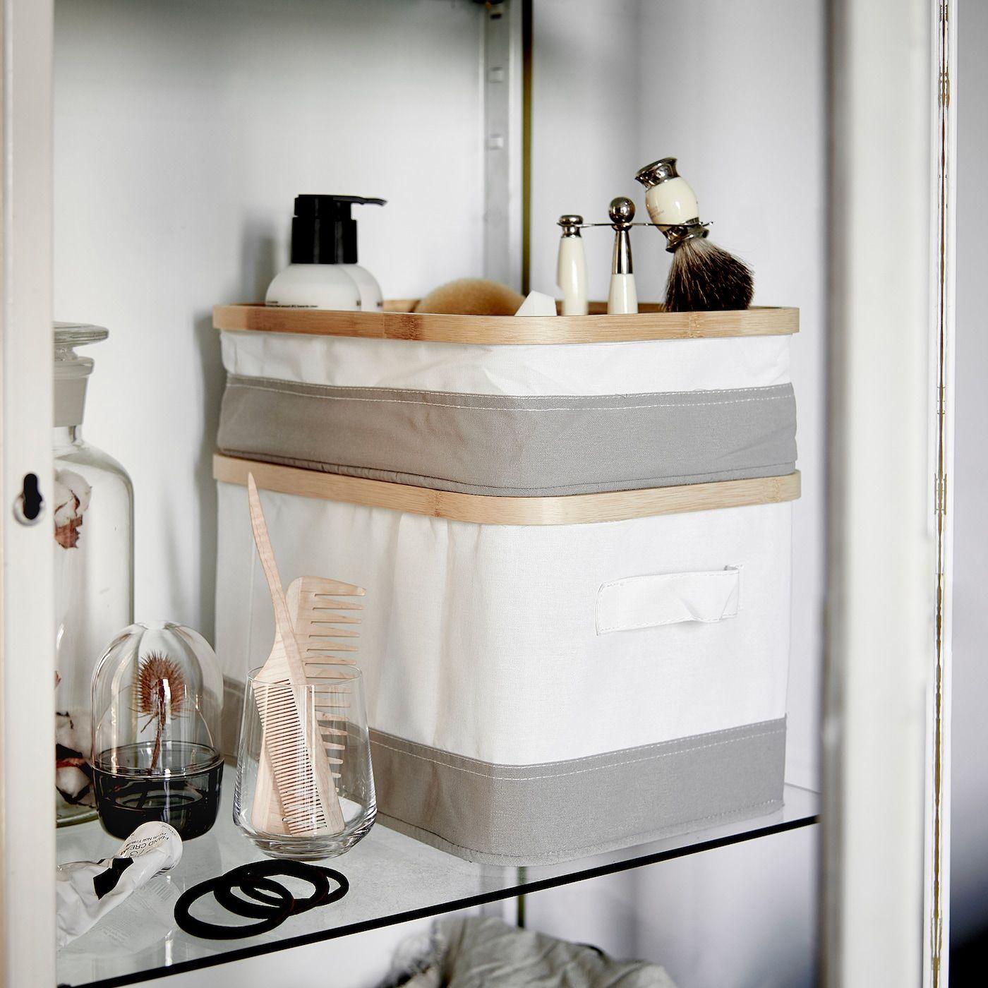 Rabbla Box With Lid 25x35x20 Cm Ikea Kastendeckel Ikea Wickeltisch Ikea