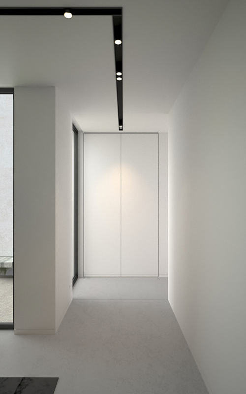 Office in Bellegem Belgium render Interior by AD