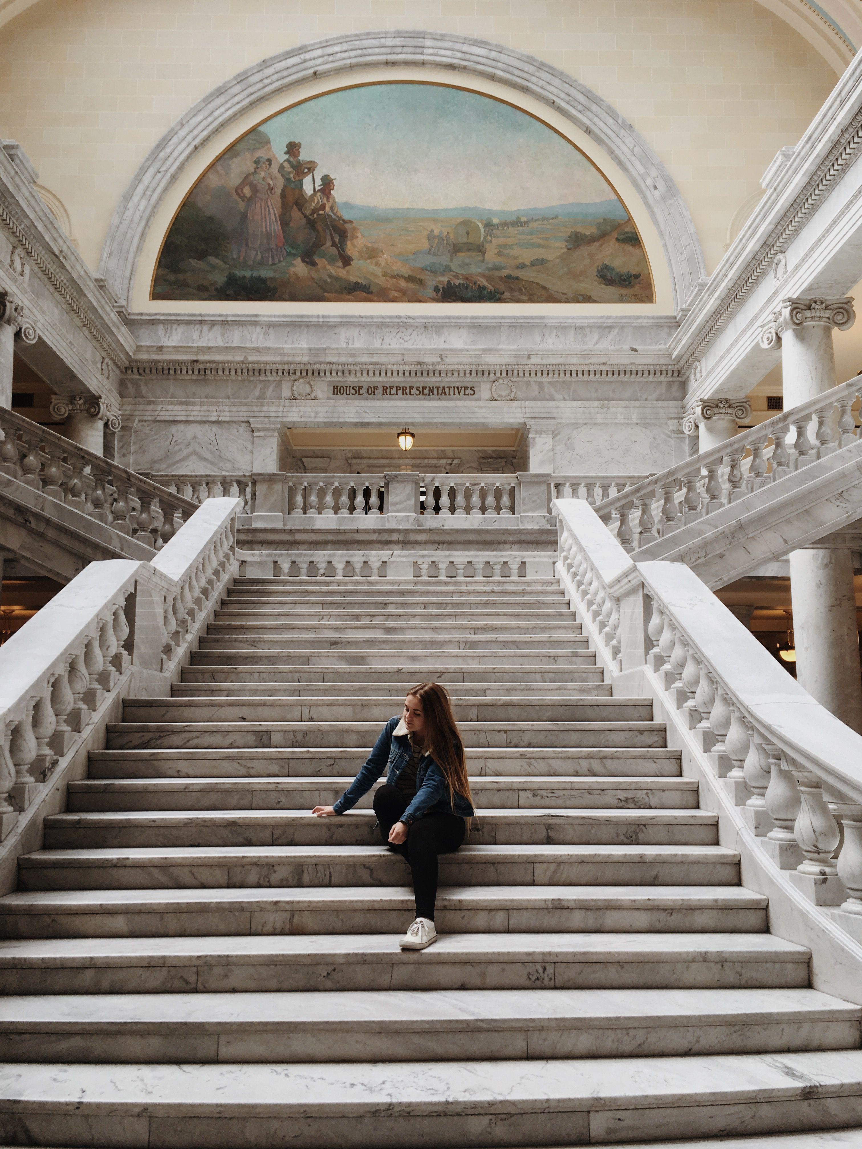 Utah State Capital House Of Representatives Capitol Building Adventure Travel Utah
