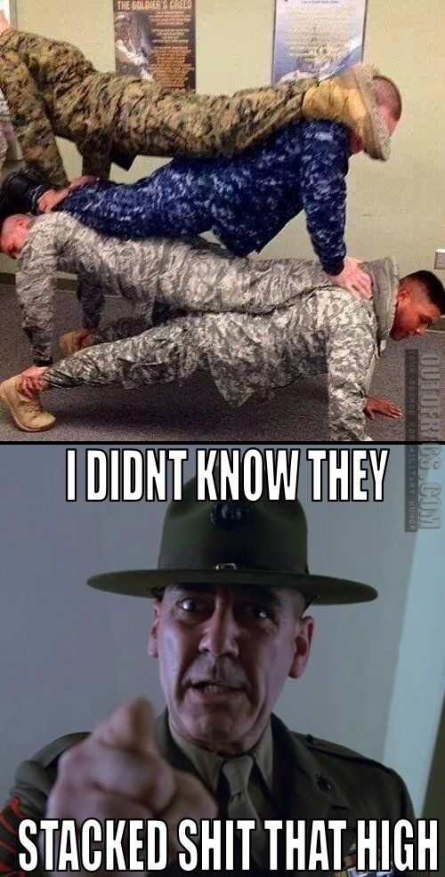 OutOfRegs - Archives | Stacked | Military Humor | Military