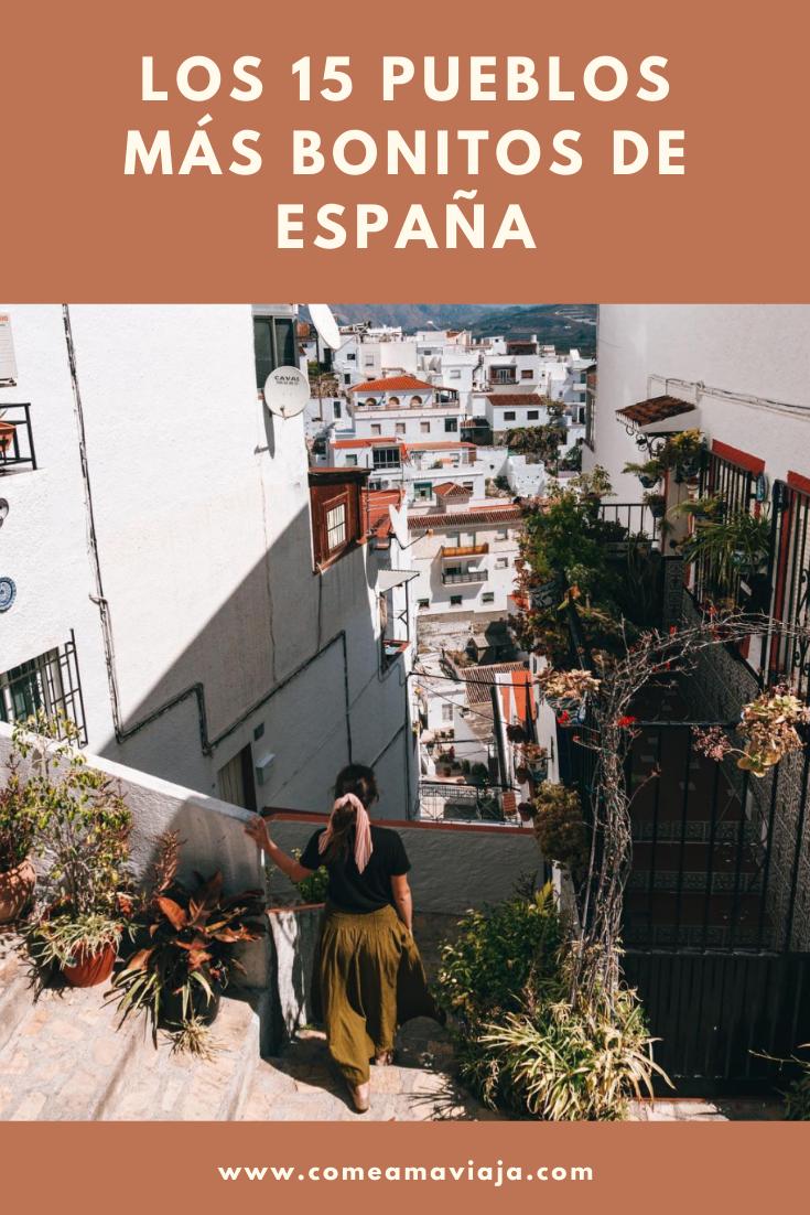 Los 15 Pueblos Más Bonitos De España En 2020 España Turismo Vacaciones España España