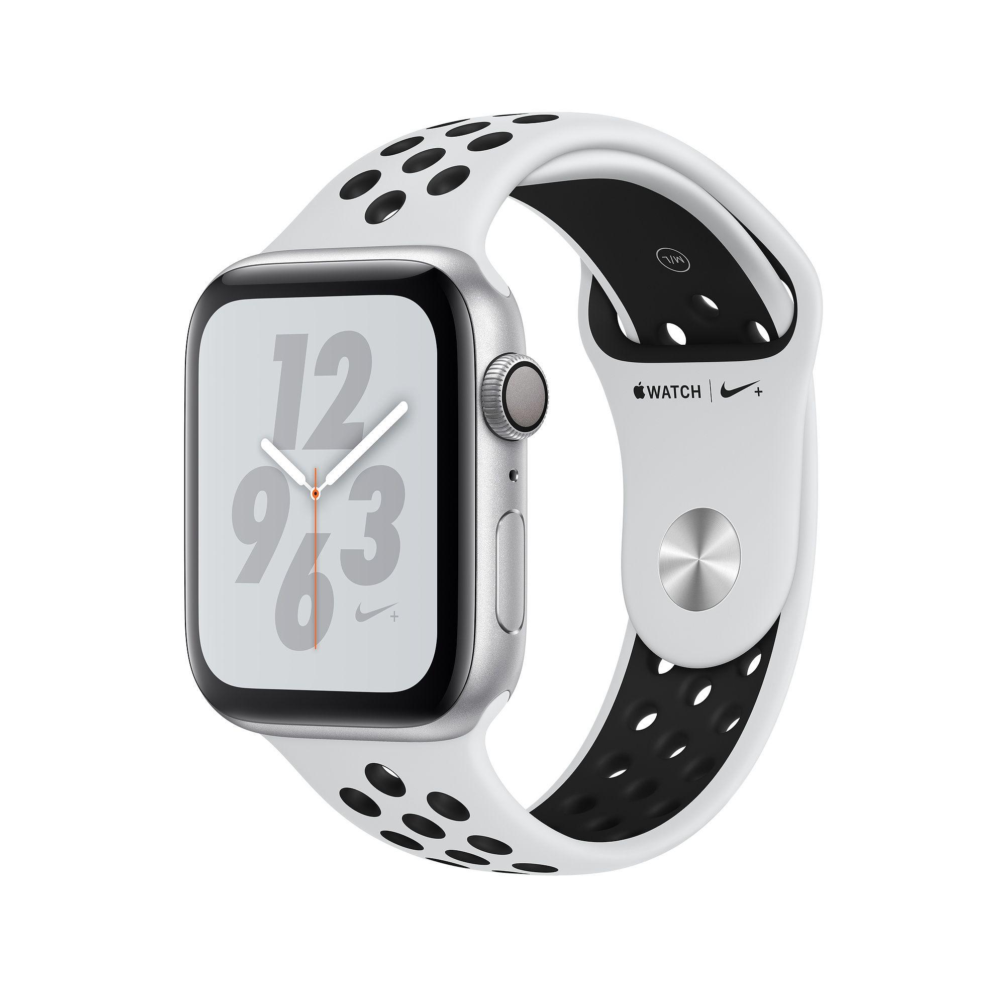 Apple Watch Nike+ Series 4 GPS, 44mm Silver Aluminum Case