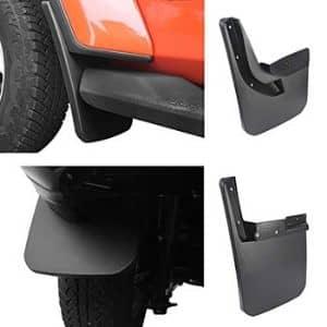 Hooke Road Fender Flares Front Rear Mud Guards Kit For 2018 2020 Jeep Wrangler Jl Sahara Sport Sports Exclude Rubicon Jeep Wrangler Wrangler Jl Jeep