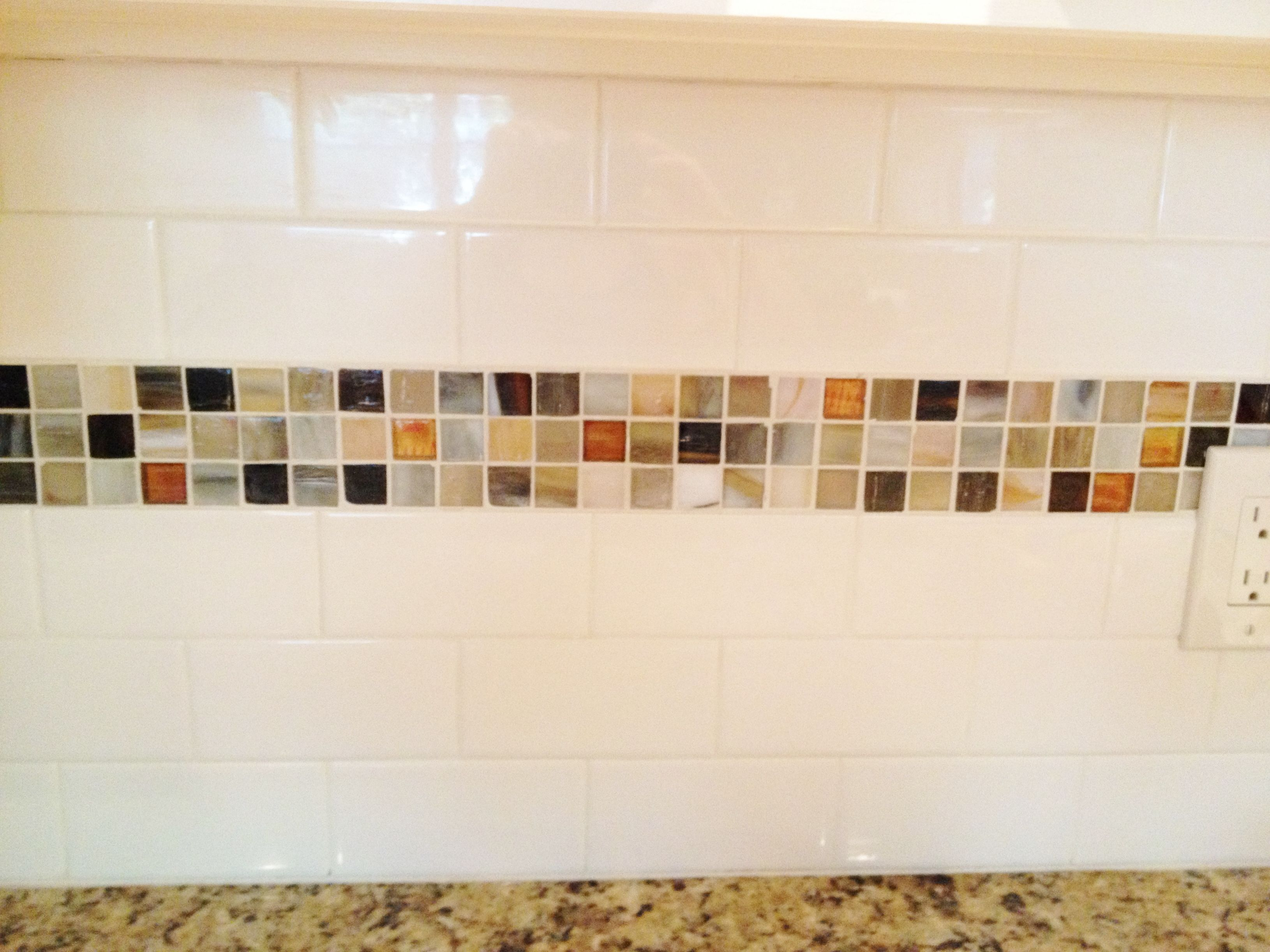Beautiful accent tiles for kitchen backsplash taste glass subway tile backsplash with accent image gallery hcpr dailygadgetfo Gallery