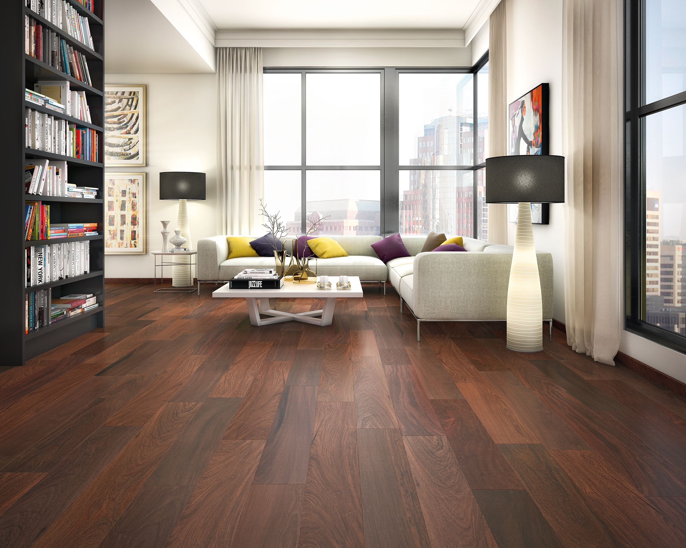 Brazilian walnut espresso engineered hardwood x 100119452