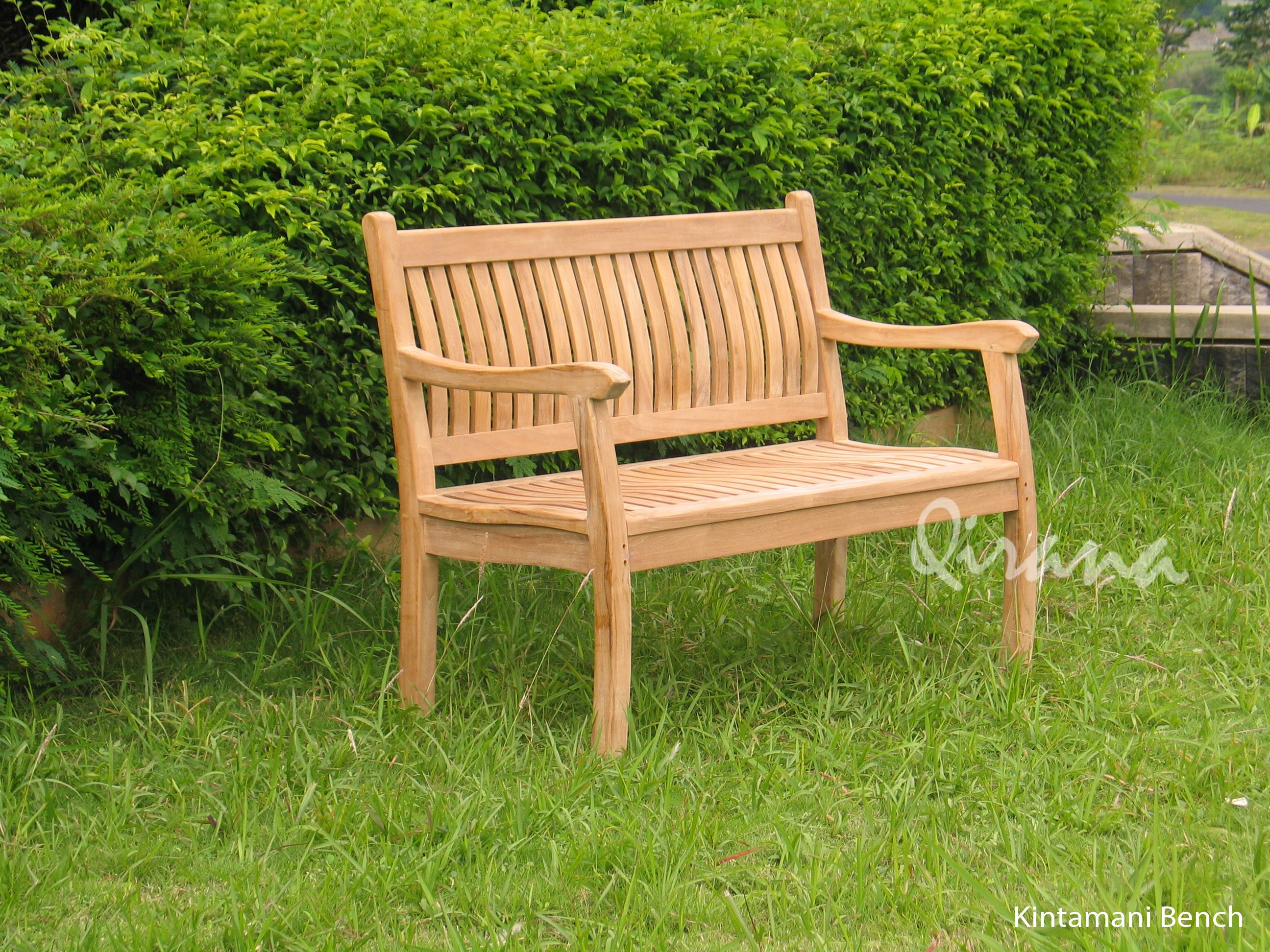 Kintamani Bench Is An Original Furniture Product Manufactured By Cv Qirana The Best Teak Garden Furniture Manufacturer From Jepara Central Java Indonesia If