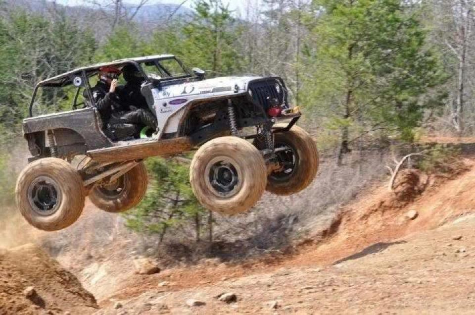 This Is The Most Literal Example Of Off Roading I Have Ever Seen