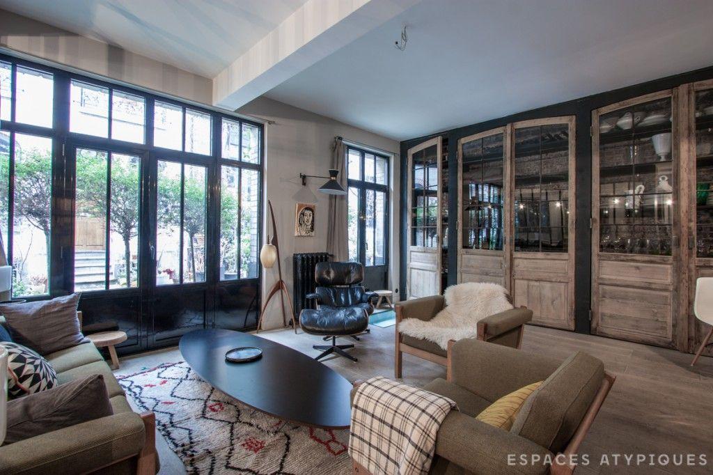 Paris  Maison années 30 rénovée Home Pinterest Salons
