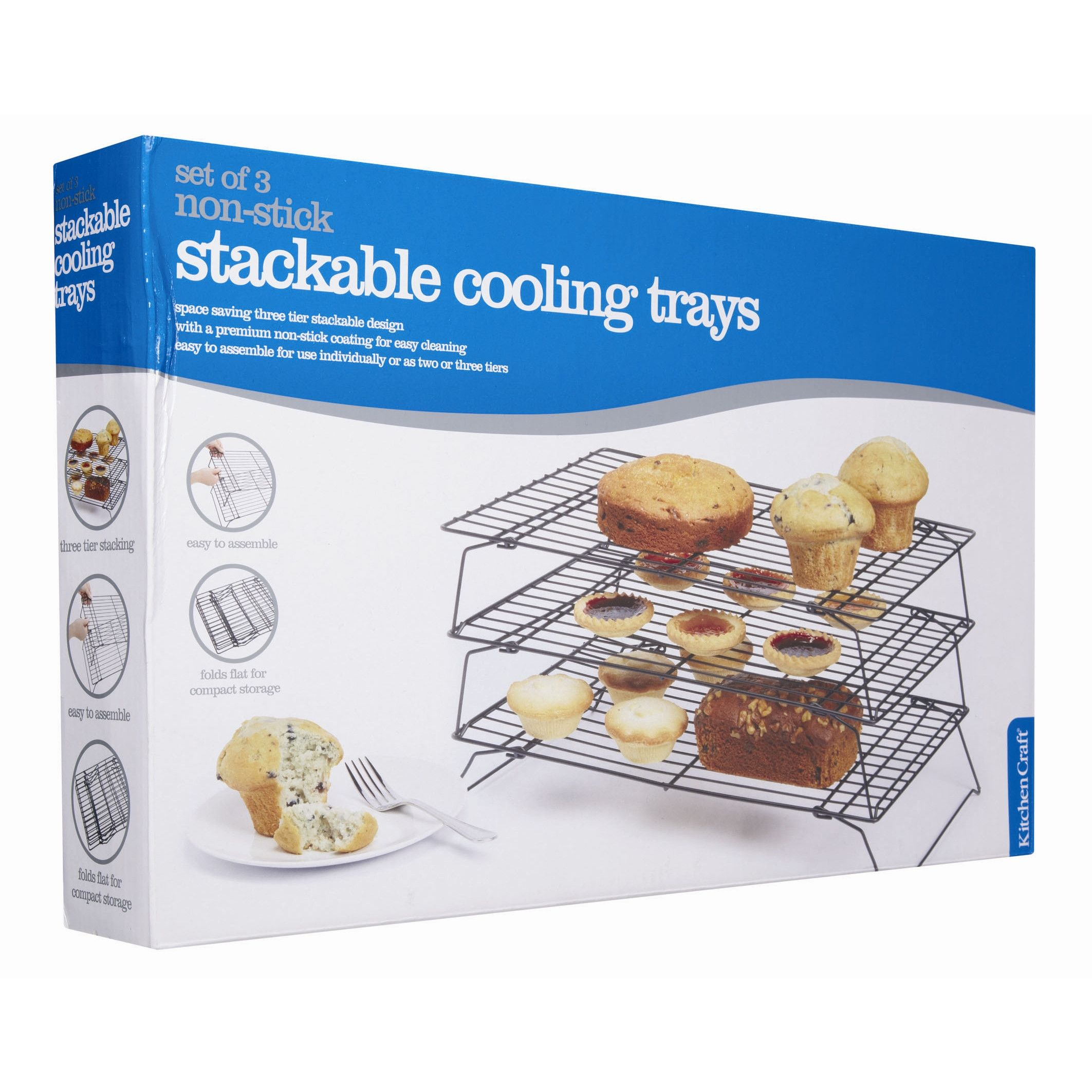 Non Stick Three Tier Cooling Rack Cooling Racks Tray Racks