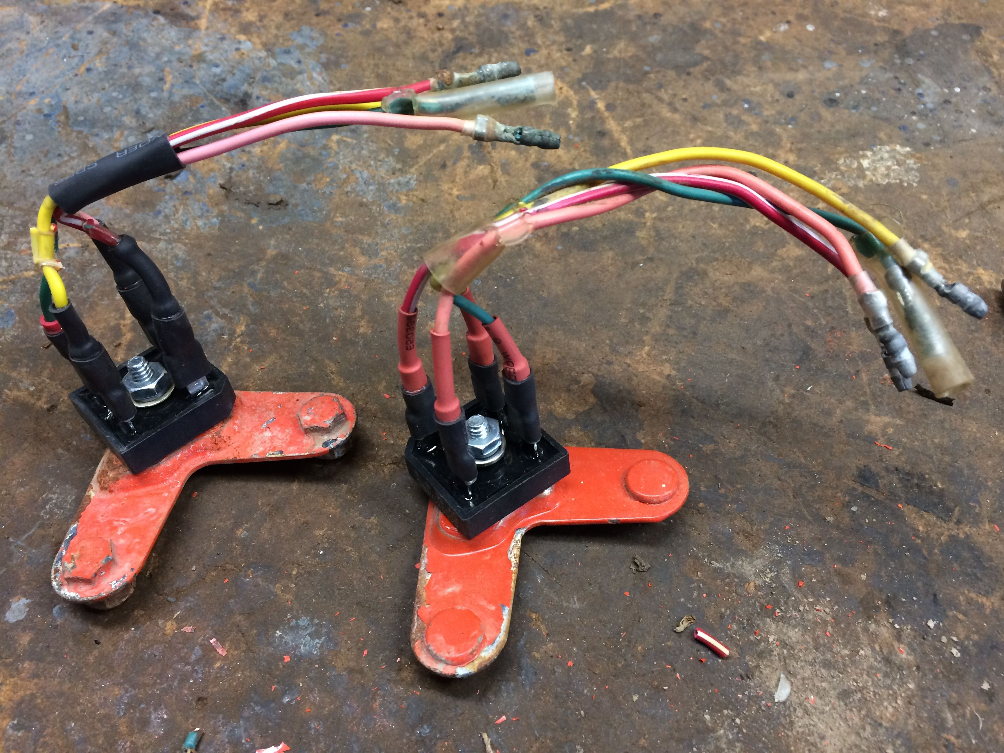 If You Need To Upgrade The Rectifier Of Your Honda Ct90 I Have Mad A Wiring Post