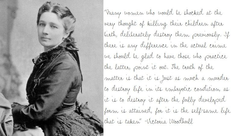 Victoria Woodhull For President Quote 1872 1st Woman To Run