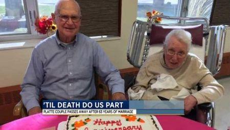 Elderly Christian Couple Pass Into Eternity Minutes Apart