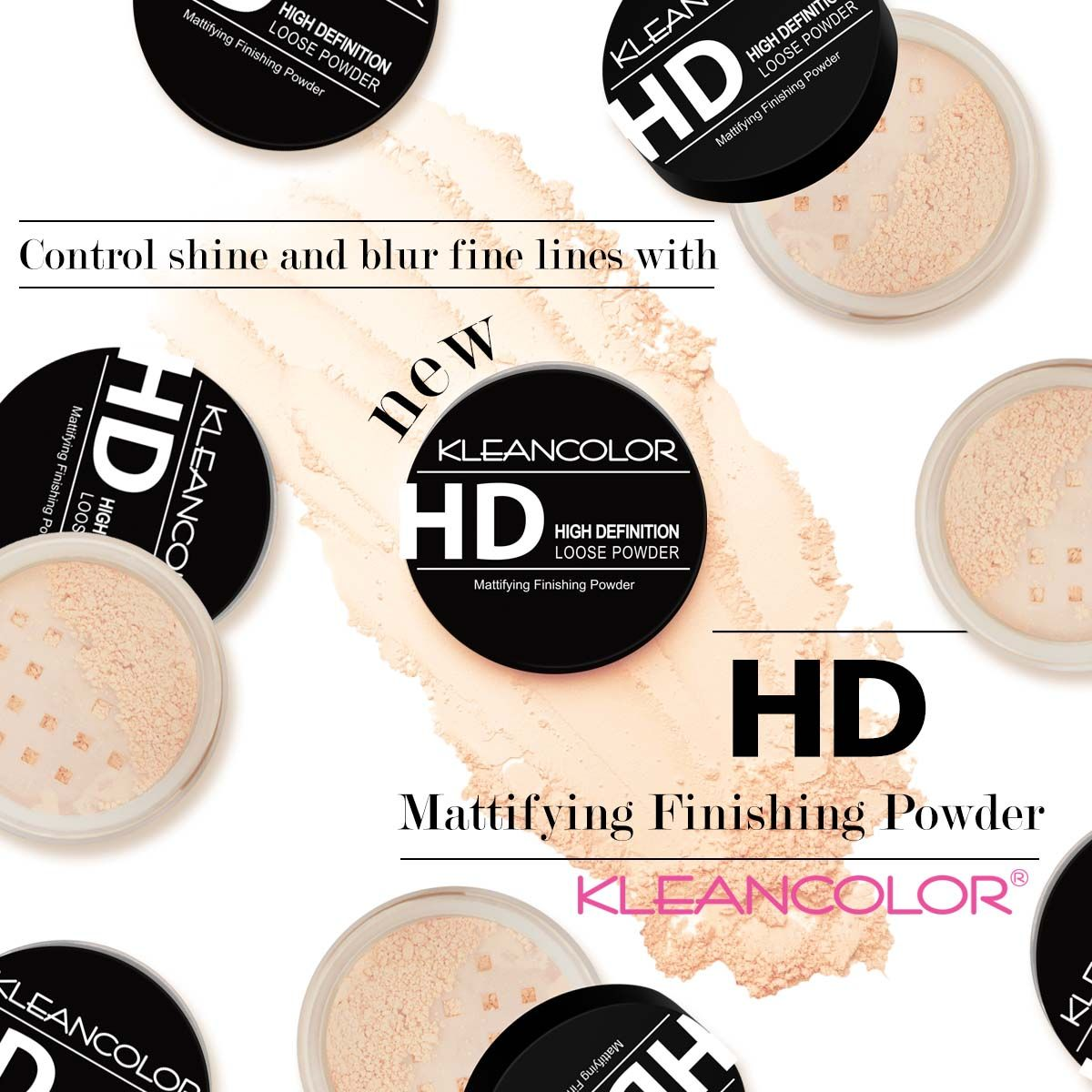 High Definition Matte Setting Loose Powder Kleancolor Loose Powder Finishing Powder How To Apply Foundation