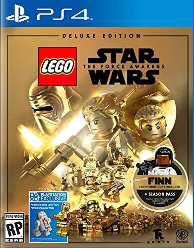 Lego Star Wars Force Awakens Deluxe Edition Playstation 4