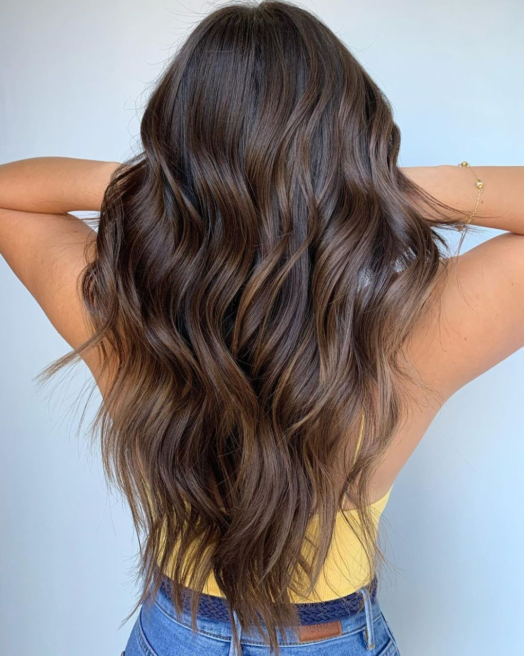 50 Trendy Brown Hair Colors and Brunette Hairstyles for 2020