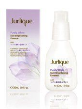 Jurlique Purely White Skin Brightening Essence 30 ml by Jurlique. $55.00. Contains Kakadu Plum. designed to help reduce the appearance of skin discolourations and even skin tone.. designed to help even skin tone for healthy-looking radiance. powerful concentrate. Jurlique Purely White Skin Brightening Essence is a powerful concentrate with VitaBrightKx designed to help even skin tone for healthy-looking radiance. Contains Kakadu Plum, the world's richest natural fruit s...