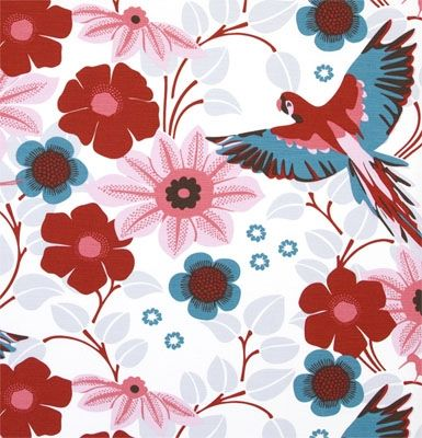 Papegojnypon Pink | the swedish fabric company