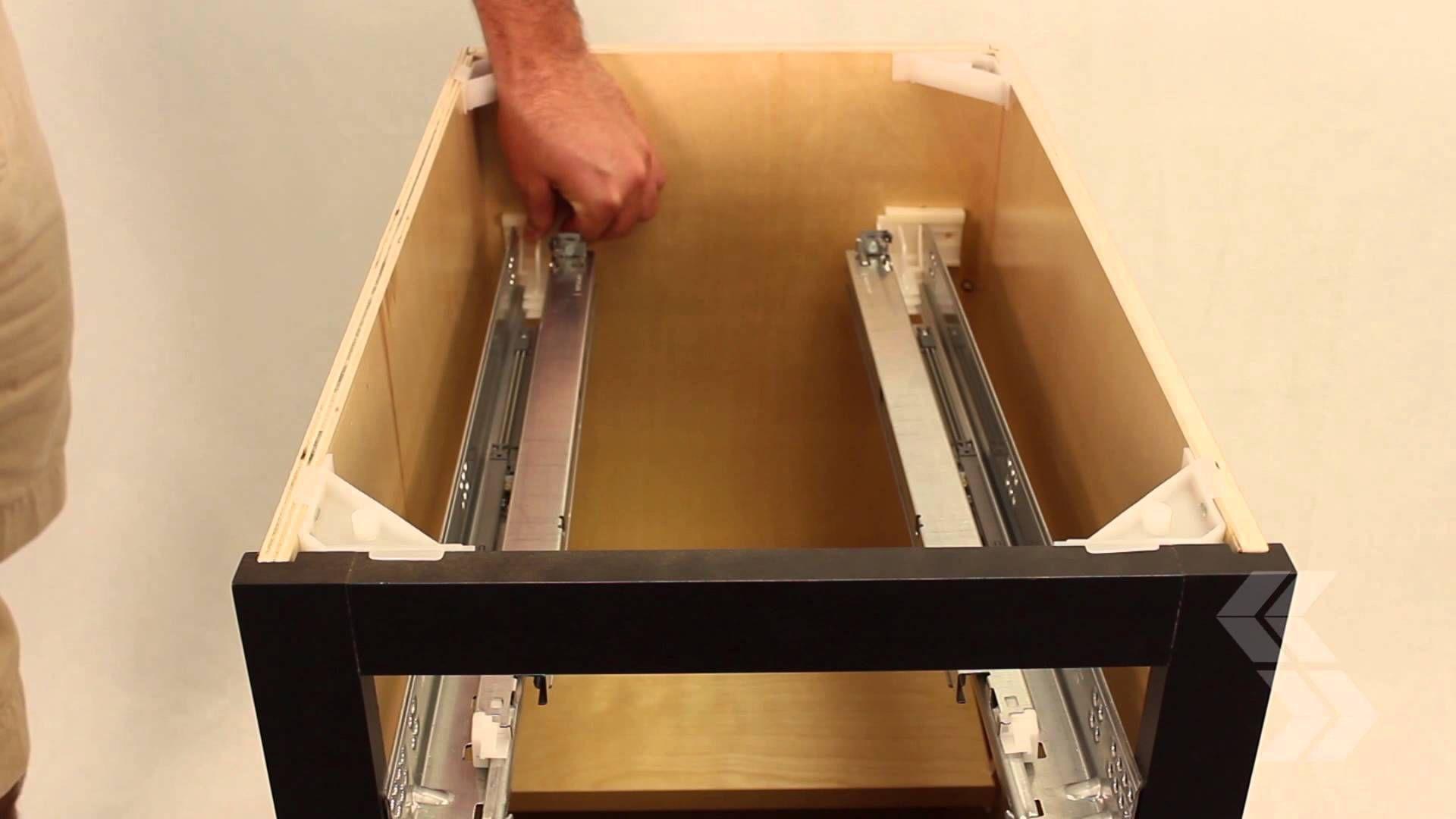 Cabinet Drawer Adjustment For Soft Close Drawers Soft Close Drawer Slides Cabinet Drawers Soft Close Drawers
