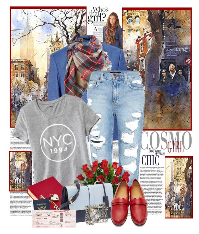"""""""Cosmo Girl"""" by summersunshinesk7 ❤ liked on Polyvore featuring Thakoon, Genetic Denim, Old Navy, Graphic Image, Miu Miu, Carritz, Sara Designs and Passport"""