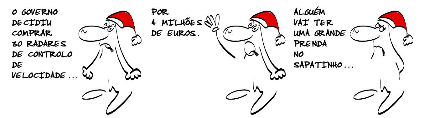 Cartoon de sexta-feira, 13 de dezembro de 2013