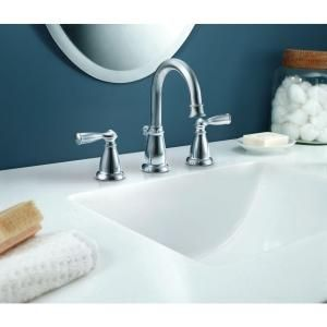 MOEN Banbury Widespread 2-Handle Lavatory Faucet in Chrome-CA84924 ...