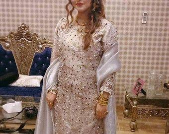 ad943d3cdcab Pakistani Dress Baroque Inspired Shalwar Kameez by KaamdaniCouture ...