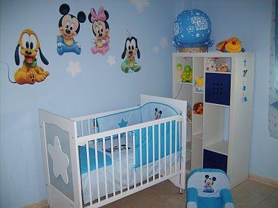 Dormitorio infantil todo para tu bebe pinterest tu for Pintar habitacion bebe