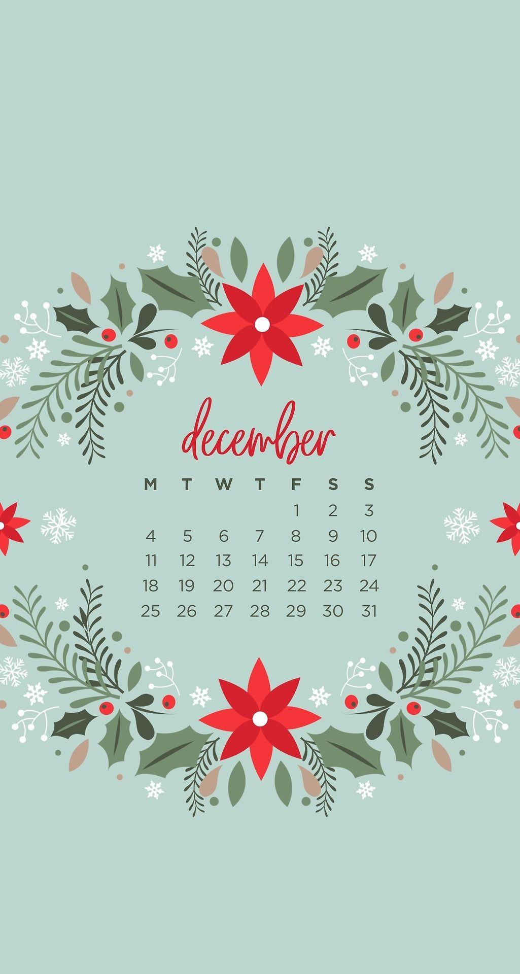 December calendar Christmas Patterned Phone iPhone