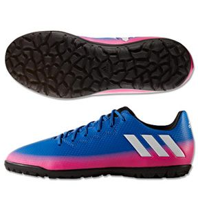 Adidas Youth Lionel Messi 16 3 Turf Soccer Shoes Blue Warning Http Www Soccerevolution Com Store Products Soccer Shoes Soccer Gear Messi Soccer