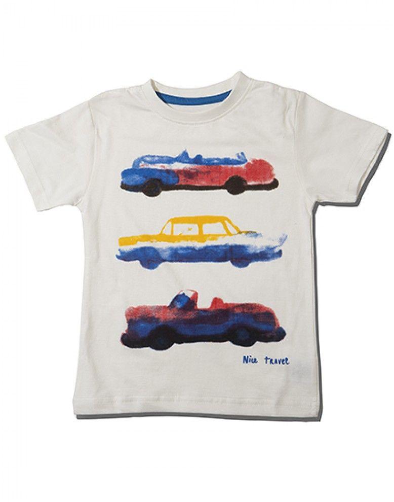e6b393eb Road trip round neck graphic print tee shirt Graphic Prints, Printed Tees,  Kids Wear