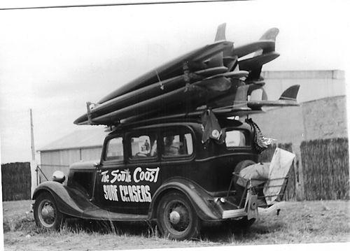 old school surf safari