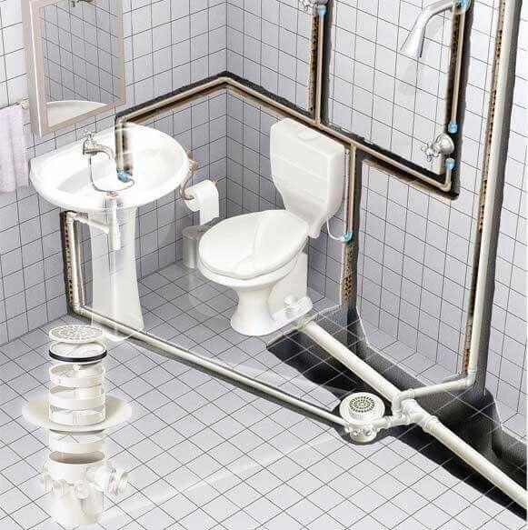 Pin de Angelito Dario en fontanería   Planos de baños ...