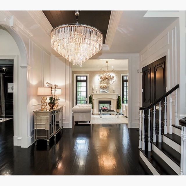 One Of My Favorite Foyers To Date! By Castlewood Custom