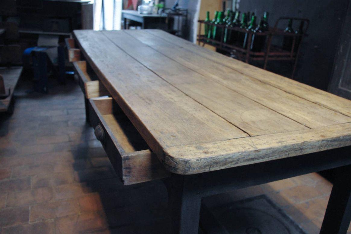 Table De Ferme De Rénovation   Dining table, Farmhouse style ...