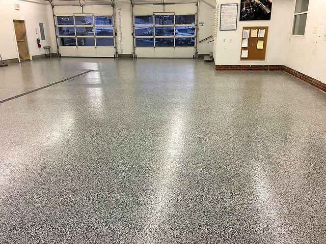 Commercial GraniFlex Garage Geauga Coatings Cleveland