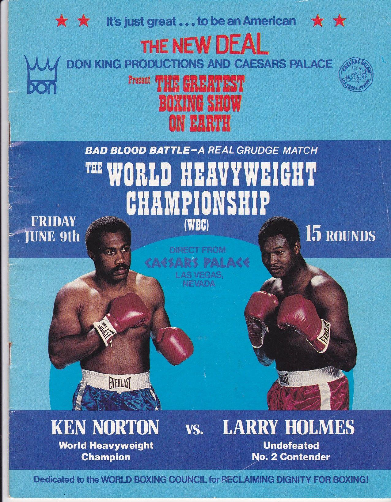 Ken Norton Vs Larry Holmes   African Ring