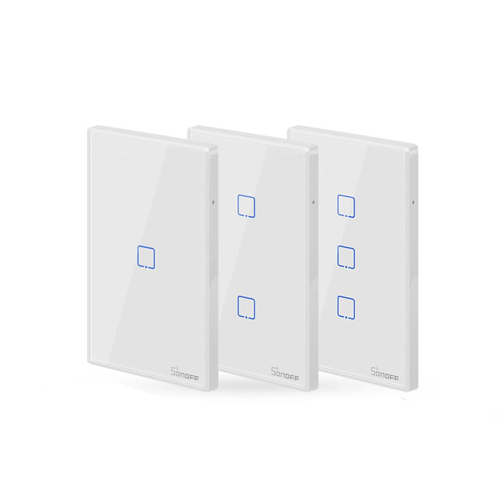 SONOFF® T2 AC 100-240V 1/2/3 Gang TX Series 433Mhz WIFI Wall