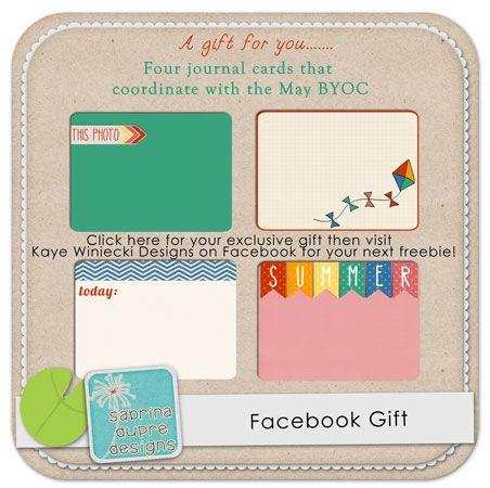 Quality DigiScrap Freebies: Journal cards freebie from Sabrina Dupre Designs