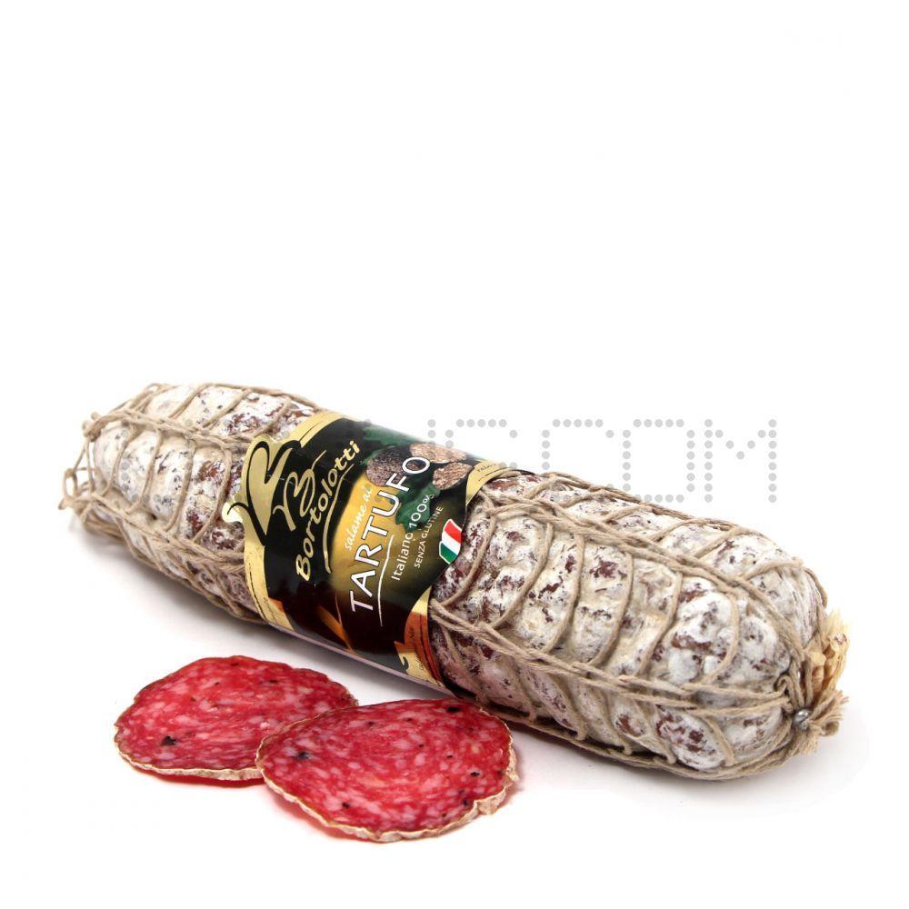 Колбаса  сыровяленая  Bortolotti салями Тартуфо ~ 800 г (Италия)