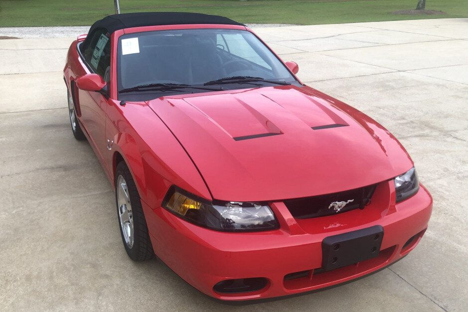 2004 Ford Mustang Svt Cobra Convertible Torch Red In 2020