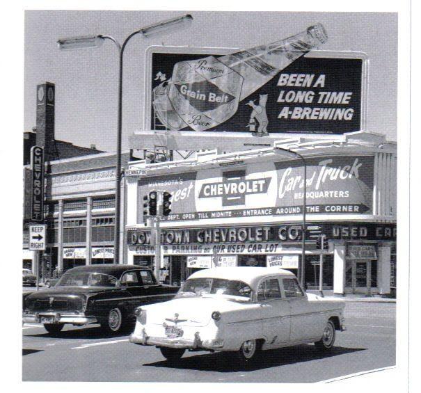 Downtown Chevytown Mpls Chevrolet Dealership Vintage Corvette Car Dealership