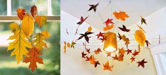 Hojas de oto o para decorar guirnaldas - Decorar hojas de otono ...