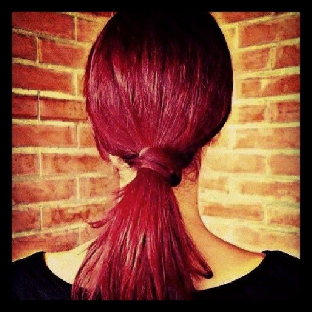 Red Passion Hair On Safirie137 Passion Hair Manic Panic Hair Dye Semi Permanent Hair Dye