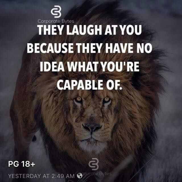 Www Thinkpozitive Com They Laugh At You Because They Have No Idea What Laugh At Yourself Quotes Positive Quotes Laugh At Yourself